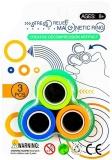 Inele magnetice antistres, diverse culori/set