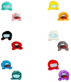 Jucarie reversibila din plus Among Us, 20 cm, diverse culori