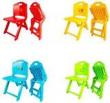 Scaunel pentru copii, din plastic, pliabil, diverse culori