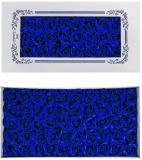 Trandafiri decorativi din sapun, culoare albastru royal, 50 buc/set