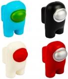 Figurina squishy, 10 cm, Among Us, diverse culori