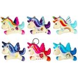 Breloc Squishy Unicorn, 9 cm, diverse modele