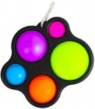Jucarie senzoriala antistres multicolora