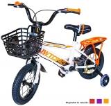 Bicicleta copii cu cos, roti 12 inch, diverse culori