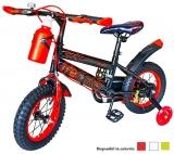 Bicicleta copii cu suport si sticla de apa, roti 12 inch, diverse culori