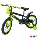 Bicicleta copii, roti 16 inch, cu sticla de apa si suport, diverse culori