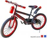 Bicicleta copii, roti 20 inch, cu sticla apa si suport, diverse culori