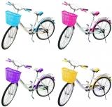 Bicicleta, roti 26 inch, tip city, diverse culori