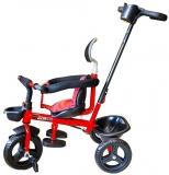 Tricicleta cu pedale si maner, diverse culori