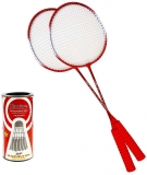 Palete pentru Badminton cu husa si fluturasi