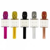 Microfon pentru Karaoke, cu Bluetooth, diverse culori