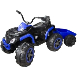 ATV cu acumulator 12V 7A, 2 motoare, cu remorca