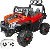 Jucarie Jeep Turbo cu acumulator si RC