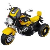 Motocicleta cu acumulator 12V, 2 motoare, culoare galben