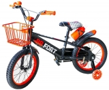 Bicicleta copii, cadru metalic, roti 16 inch, cos metalic, BB Fort