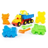 Camion Favorite cu accesorii nisip, 30 cm Polesie
