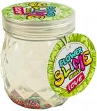 Slime in borcan, 140 ml, Floare