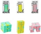 Jucarie antistres Cub miscari infinite, diverse culori