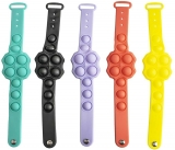 Jucarie senzoriala antistres Pop it Now model Bratara lata, diverse culori