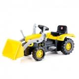 Tractor excavator cu pedale Dolu