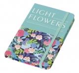 Notes light Flowers A6 cu elastic