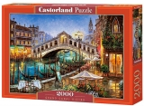 Puzzle 2000 piese, Grand Canal Bistro, Castorland