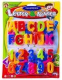 Litere majuscule si cifre magnetice, 1 set/blister