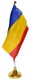 Steag birou 15 x 21 cm, cu suport, Romania