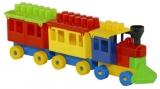 Trenulet si cuburi Tupiko