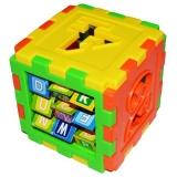 Cub educativ socotitoare, 11 cm, Robentoys