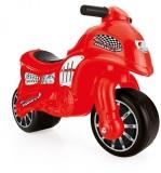 Motocicleta fara pedale, 70 cm, rosu, 8028 Dolu