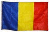 Steag din panza, 90 x 60 cm, Romania