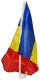 Steag auto 30 x 45 cm, suport plastic, Romania