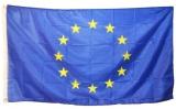 Steag din panza, 150 x 90 cm, UE