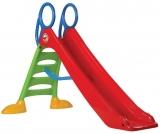 Tobogan mare pentru copii, 220 cm, plastic, multicolor