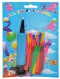 Baloane cu pompa, 20 buc/blister