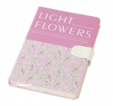 Notes light flowers A5 cu magnet 144 file