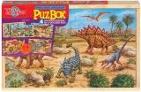 Puzzle de lemn Dinozauri