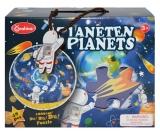 Puzzle din lemn Planeta Pamant 48 piese