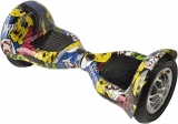 Scuter electric hoverboard cu acumulator bluetooth si boxe mare Wheel10 Grafitti