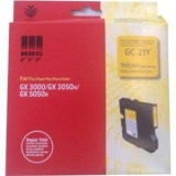 Cartus Gel Yellow Gc-21Y 405535 1K Original Ricoh Gx3000