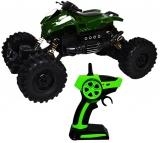 ATV de jucarie cu telecomanda RC, roti cauciuc Military