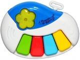 Orga pentru bebelus, cu lumina si sunet