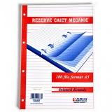 Rezerva caiet mecanic dictando A5 100 file Arhi