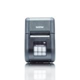 Imprimanta mobila rezistenta cu ecran LCD pentru chitante de 58mm latime/etichete de 55mm. Conexiuni Bluetooth, MFi, Wi-Fi și AirPrint Brother