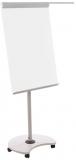 Flipchart mobil 360 grade, magnetic, reglabil pe inaltime, doua brate laterale, 68 x 104 cm Rocada