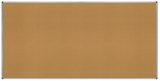 Panou afisaj pluta, rama aluminiu, 240 x 120 cm Rocada