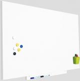 Skinwhiteboard magnetic, suprafata lacuita, modular, fara cadru, 75 x 115 cm Rocada
