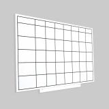 Skinplanner magnetic, suprafata lacuita, sabloane magnetice, 75 x 115 cm Rocada