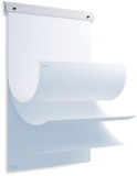 Accesoriu Flipchart SkinBlock + set hartie flipchart, 20 coli dimensiune 65 x 90 cm Rocada